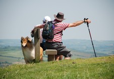People ........ taking a rest Thorncombe Beacon. Photographer Chris Allcorn, Bridport.