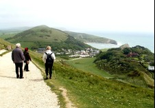 From Lulworth to Durdle Door. Photographer Tina Vowell, Somerset.